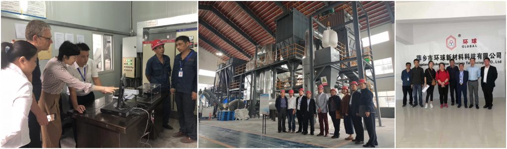 Customer Visiting--                                                                                         The Overseas customers and Domestic customers visited Pingxiang Global in 2019